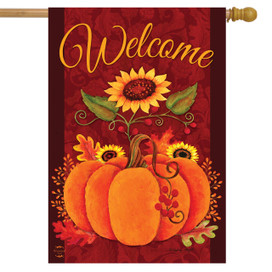 Pick of the Patch Fall House Flag