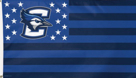 Creighton University Bluejays Stars & Stripes Deluxe Grommet Flag
