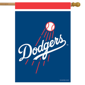 Los Angeles Dodgers MLB House Flag