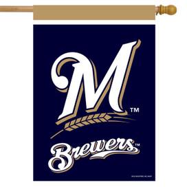 Milwaukee Brewers MLB House Flag