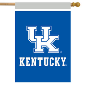 Kentucky Wildcats NCAA Licensed House Flag
