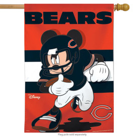 Chicago Bears NFL Mickey Mouse Football House Flag