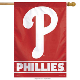 Philadelphia Phillies Vertical MLB House Flag
