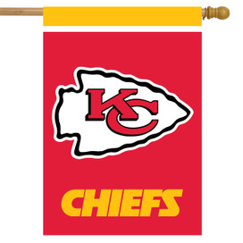 Kansas City Chiefs NFL House Flag