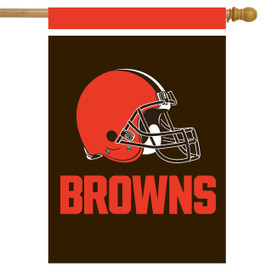 Cleveland Browns NFL House Flag