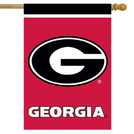 Georgia Bulldogs NCAA House Flag