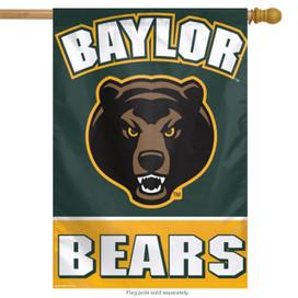 Baylor University Bears NCAA Vertical House Flag