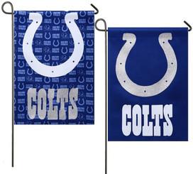 Indianapolis Colts NFL Licensed Glitter Garden Flag