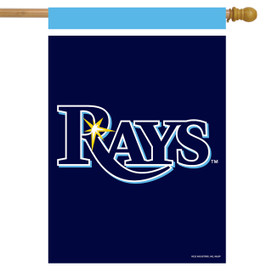 Tampa Bay Rays MLB House Flag