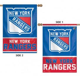 New York Rangers Vertical 2 Sided House Flag