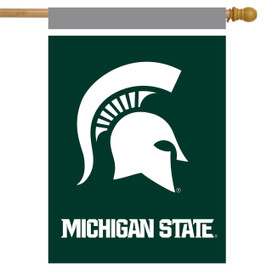 Michigan State Spartans NCAA Licensed House Flag