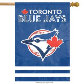 Toronto Blue Jays Applique Embroidered House Flag