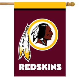 Washington Redskins NFL House Flag