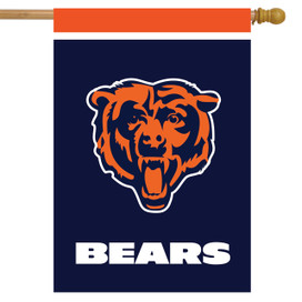 Chicago Bears NFL House Flag