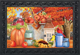 Apple Picking Fall Doormat