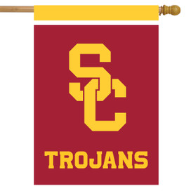 USC Trojans NCAA House Flag