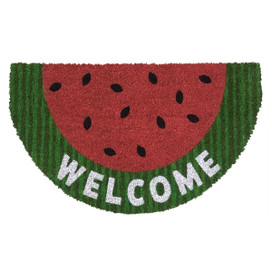 Watermelon Summer Natural Fiber Coir Doormat