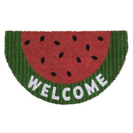 Watermelon Summer Natural Fiber Coir Doormat