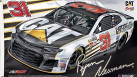 Ryan Newman # 31 Deluxe NASCAR Grommet Flag