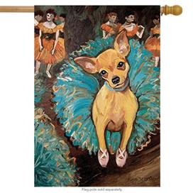 Dogas Chihuahua Dog House Flag