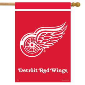 Detroit Red Wings NHL Licensed House Flag