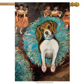 Dogas Beagle Dog House Flag