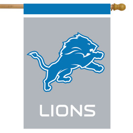 Detroit Lions NFL Licensed House Flag