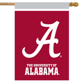 Alabama Crimson Tide NCAA Licensed House Flag