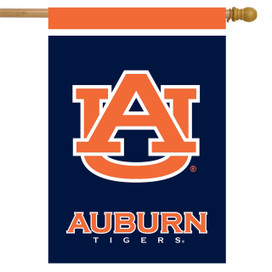 Auburn Tigers NCAA Licensed House Flag
