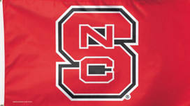 North Carolina State Wolfpack Deluxe Grommet Flag