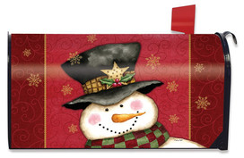 Holly Jolly Christmas Large / Oversized Mailbox Cover