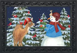 Season Of Giving Christmas Doormat