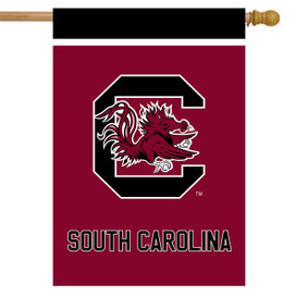 South Carolina Fighting Gamecocks NCAA Licensed House Flag