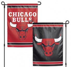 Chicago Bulls NBA 2 Sided Garden Flag