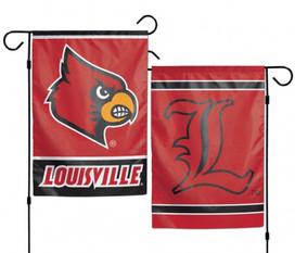 University of Louisville Cardinal 2 Sided NCAA Garden Flag