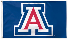 "University of Arizona ""A"" Deluxe Grommet Flag NCAA"