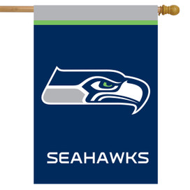 Seattle Seahawks NFL House Flag