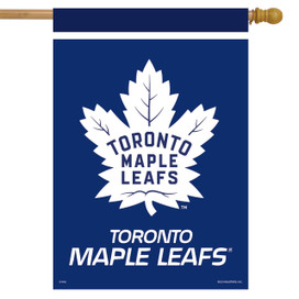 Toronto Maple Leafs NHL Licensed House Flag