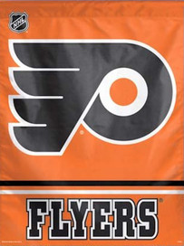 Philadelphia Flyers Vertical Flag