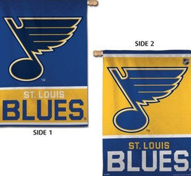 St. Louis Blues Vertical NHL House Flag
