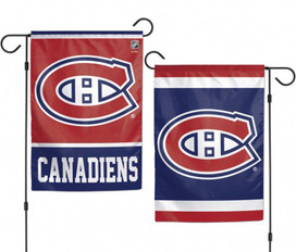 Montreal Canadiens 2 Sided NHL Garden Flag