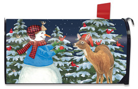 Season Of Giving Christmas Mailbox Cover