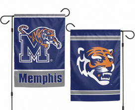 University of Memphis Tigers 2 Sided Garden Flag