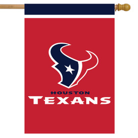 Houston Texans NFL House Flag