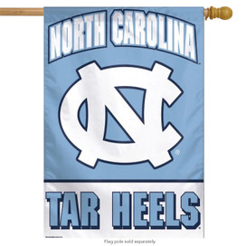 University of North Carolina Vertical Flag