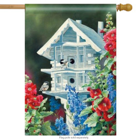 The White House Spring Decorative House Flag by BreezeArt