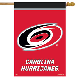 Carolina Hurricanes NHL Licensed House Flag