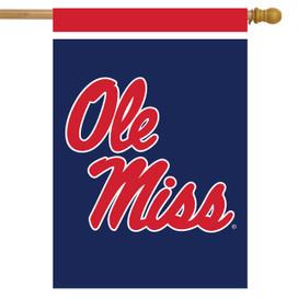Mississippi Rebels NCAA Licensed House Flag