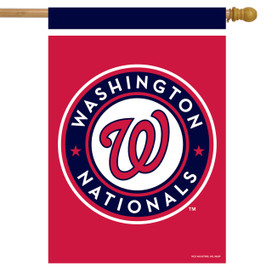 Washington Nationals MLB House Flag