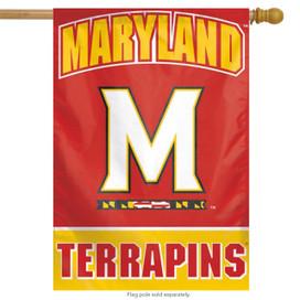 University of Maryland Terrapins NCAA Vertical House Flag
